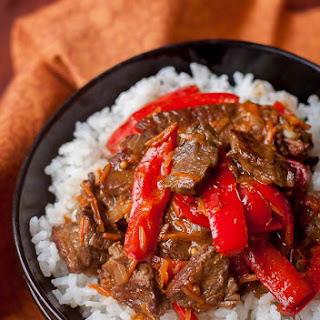 Spicy Beef & Bell Pepper Recipe