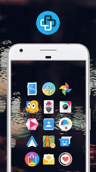 Download APK: Mate UI – Material Icon Pack v2.0 [Patched]