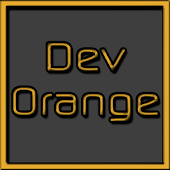 Dev Orange LG V20 G5 Theme