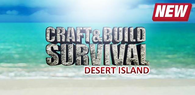 Craft & Build Survival: Desert Island PRO