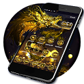 Golden Dragon Theme & Lock Screen icon