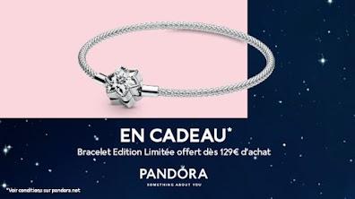 PANDORA - Le bracelet édition limitée offert dès 129 euros d'achat