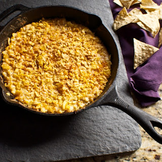 Roasted Corn Cheese Dip.