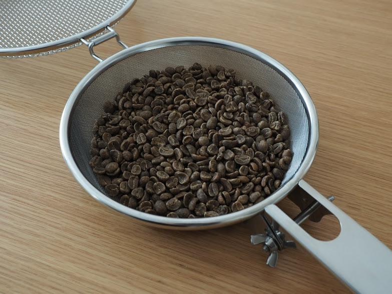 ユニフレーム手網焙煎器
