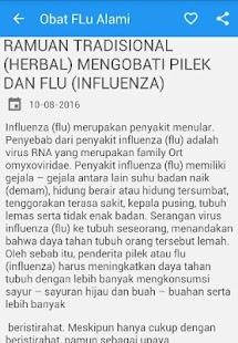 Obat Pilek - FLU Alami - náhled
