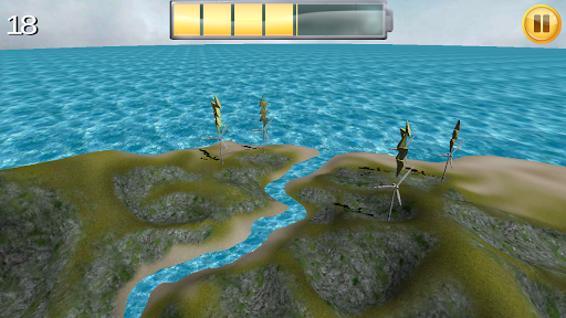 Wind Power Station 3D