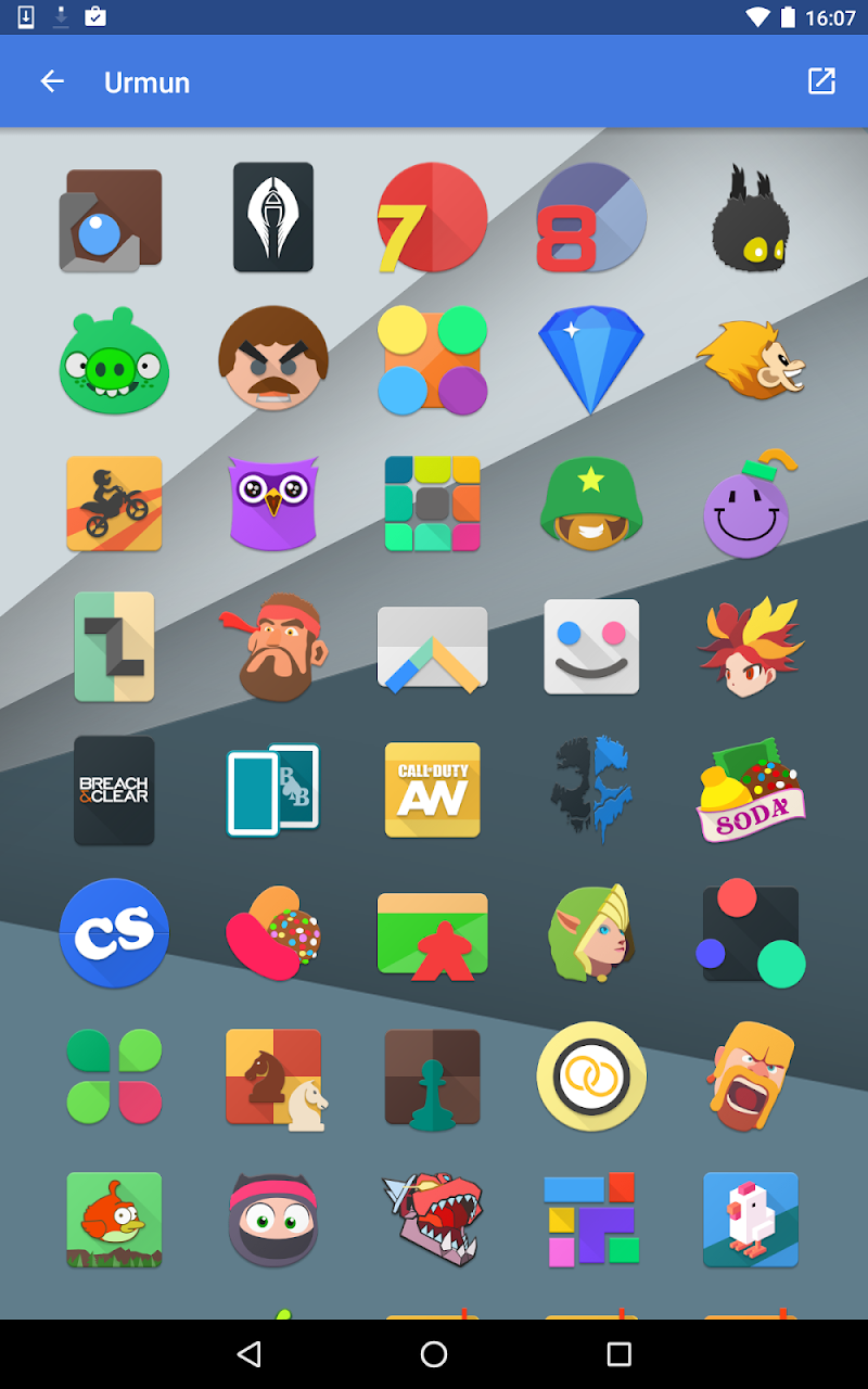 Urmun - Icon Pack Screenshot 13