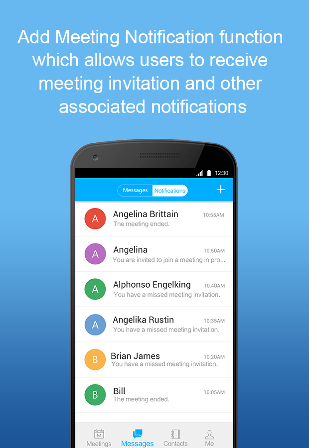 ezTalks Free Cloud Meeting- screenshot