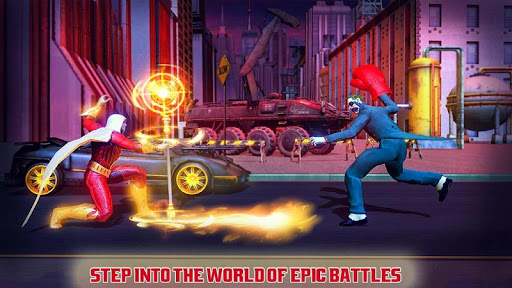 Real Superhero Kung Fu Fight Champion apkslow screenshots 2