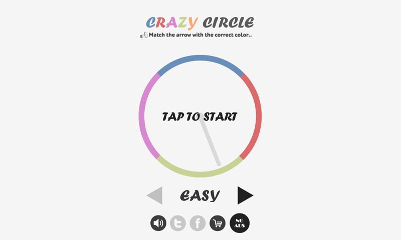 Crazy Circle - στιγμιότυπο οθόνης