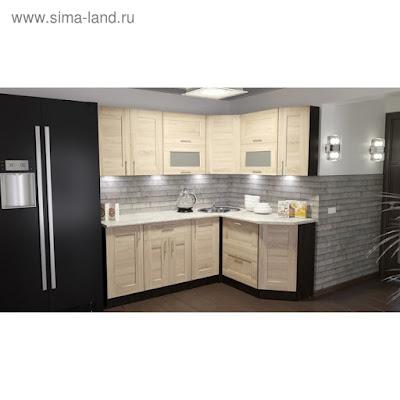 Кухонный гарнитур Ника мега прайм 2000*1500