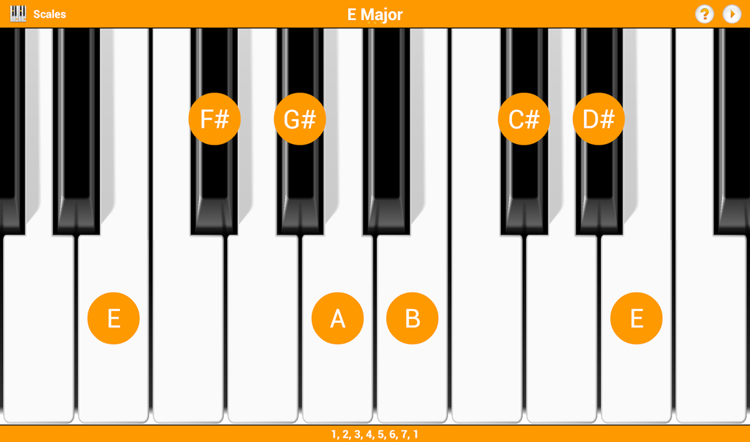 KeyChord - Piano Chords/Scales - Android Apps on Google Play