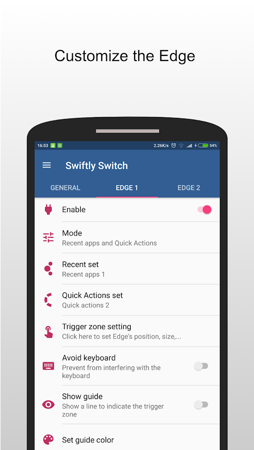 Swiftly switch - Pro- screenshot