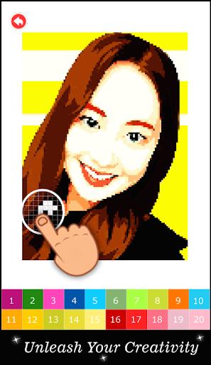 Pixel Art KPOP Color By Number 1.3 screenshots 5
