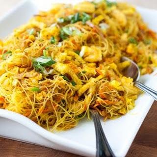 Singapore Noodles (Singapore Mei Fun) Recipe