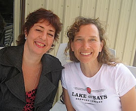 Photo: Kamsack, Sask. August 4/10. Irina Anosova & Tamara Tarasoff. Photo by Mae Popoff