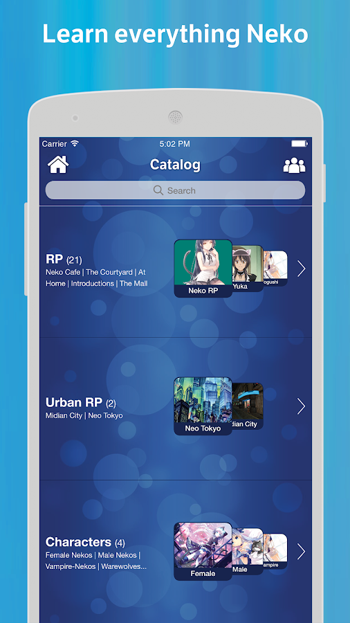 Neko Amino- screenshot