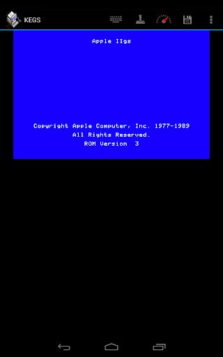 KEGS IIgs Emulator 0.71beta screenshots 1