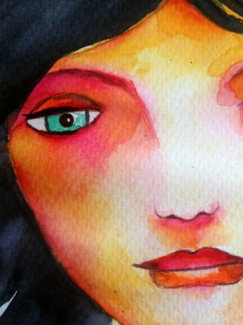 Malen lernen Portrait