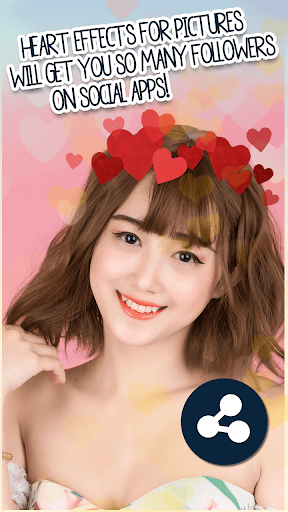 Heart Crown Filter Photo Editor  screenshots 4