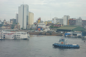 Photo: In Manaus harbour, Brazil