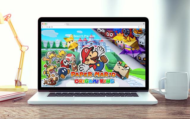 Paper Mario New Tab Game Theme
