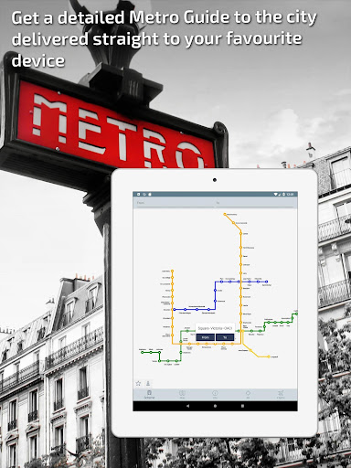 Montreal Metro Guide and Subway Route Planner - screenshot