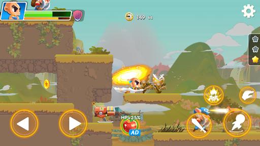 Hero the Man - Transform to Super Z SSJ Warriors 1.6.0.186 screenshots 14