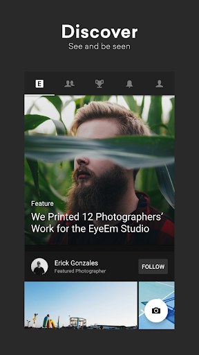 EyeEm: Free Photo App For Sharing & Selling Images 8.0.1 screenshots 1