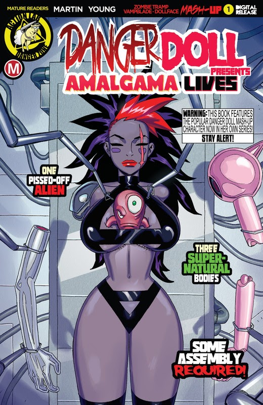 Danger Doll Squad Presents: Amalgama Lives (2019) - complete