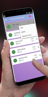 call recorder pro, automatic call recording - náhled