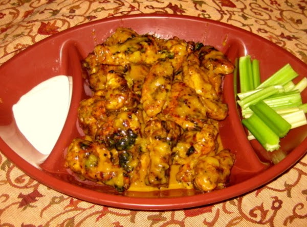 Grilled Caribean Jerk Wings Recipe