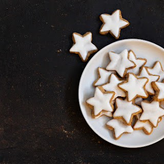 Iced Gingerbread Stars