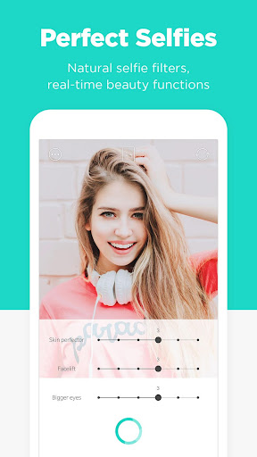 Candy Camera - selfie, beauty camera, photo editor app (apk) free download for Android/PC/Windows screenshot