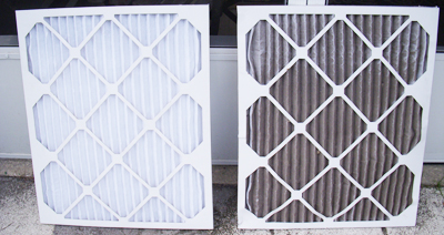 Clean Dirty Air Filters In Your Home