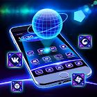 Tech Blueテーマ icon