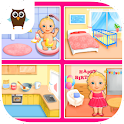 Sweet Baby Girl Dream House icon