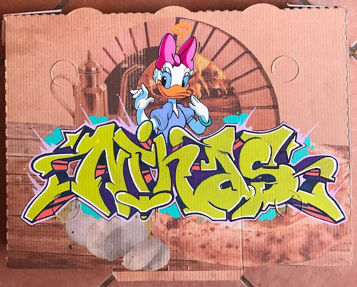 Acronimo Roma   Italian graffiti