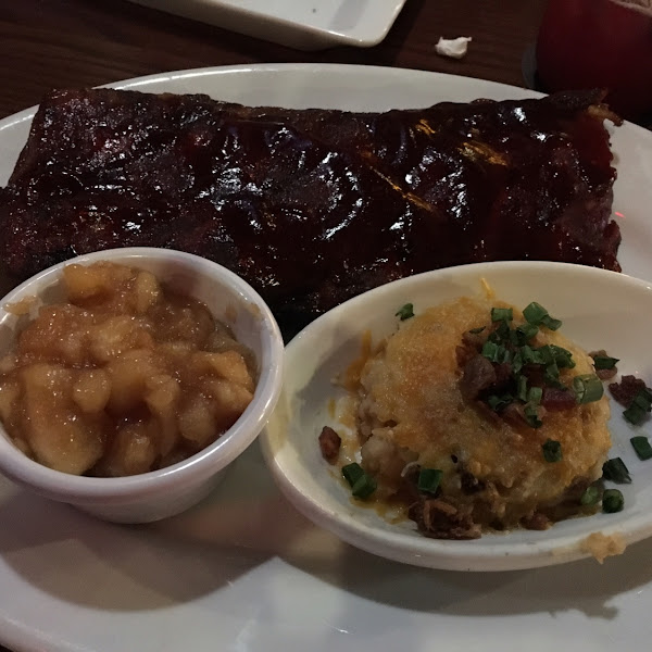 Ribs were a touch tough but tasty!