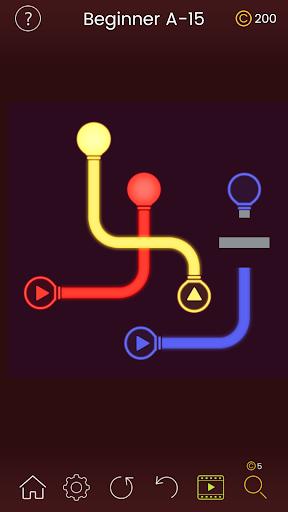 Puzzle Glow : Brain Puzzle Game Collection  captures d'écran 4