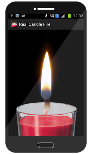 Real Candle Fire