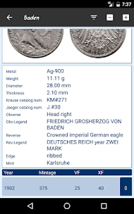 German Empire's silver coins- screenshot thumbnail