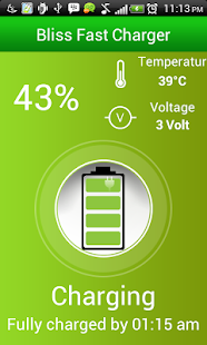Free Bliss Fast Battery Charger APK for Android