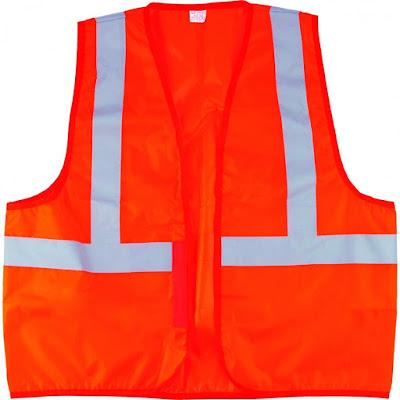 Жилет сигнальный Сибртех оранжевый, размер XL