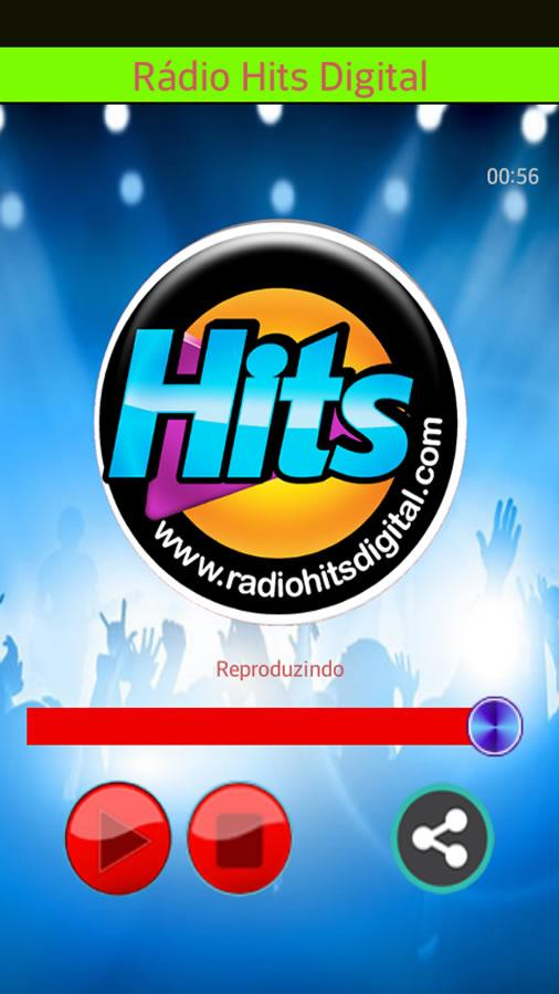 Rádio Hits Digital- screenshot