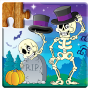 Jigsaw Puzzles Halloween Game for Kids ?