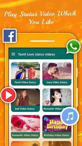 Tamil Video Status For Whatsapp 2019 screenshots 1