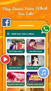 Tamil Video Status For Whatsapp 2019 App Download For Android and iPhone 1