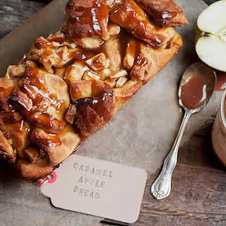 Chopped Caramel Apple Bread.