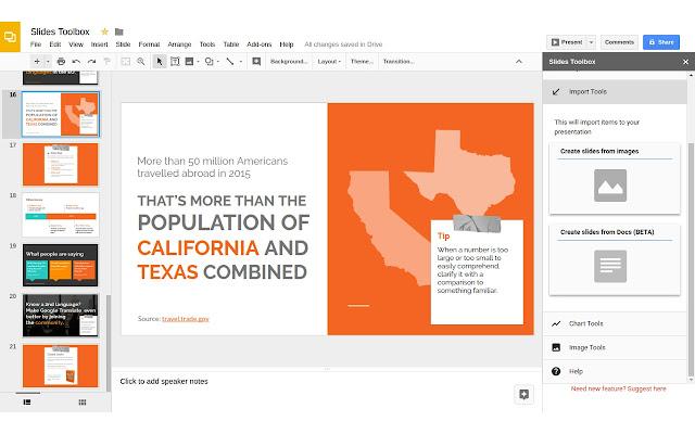 Slides Toolbox Google Slides Add On
